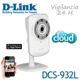 Cámara red D-Link DCS-932L