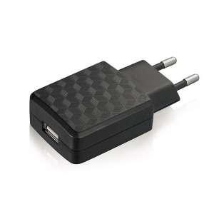Cargador USB Leotec pared 5V-2A micro USB negro