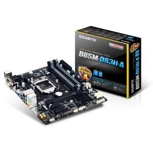Placa base i3/i5/i7 S1150 Gigabyte GA-B85M-DS3H-A 4DDR3 2PCE 4ST3 2USB3 VGA HDMI DVI MATX