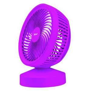 Ventilador sobremesa Trust Ventu USB Cooling Fun Summer purpura