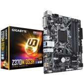 Placa base S1151-V2 Gigabyte Z370M DS3H 4DDR4/PCIE/6SATA3/6USB3.1/HDMI/DVI-D/RAID/m-ATX
