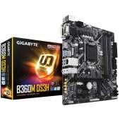 Placa base S1151-V2 Gigabyte B360M DS3H 4DDR4/PCIE/SATA3/USB3.1/HDMI/DVI-D/RGB/mATX