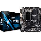 Placa base ASRock J4105M CPU Intel Quad Core J4105 VGA 2DRR4 4USB3.1 PCIE M2 HDMI DVD-D WF mATX
