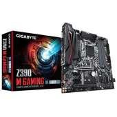 Placa base S1151-V2 Gigabyte Z390 M Gaming 4DDR4/PCIE/SATA3/USB3.1/HDMI/RAID/RGB/mATX
