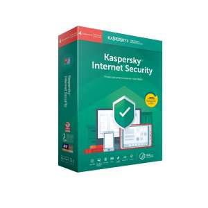 Software Antivirus Kaspersky 2019 Internet Security multidevice 4 licencias