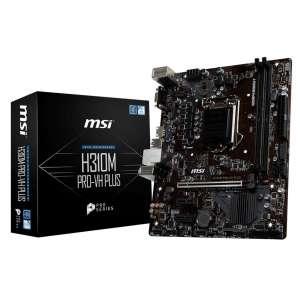 Placa base S1151 MSI H310M Pro-VH Plus 2DDR4-HDMI-VGA-MATX