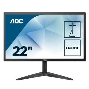 "Monitor AOC 21.5"" LED 22B1H Full HD VGA HDMI"