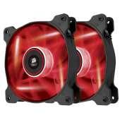 Ventilador Corsair caja adicional 12x12 AF120 LED ROJO pack 2ud CO-9050016-RLED U