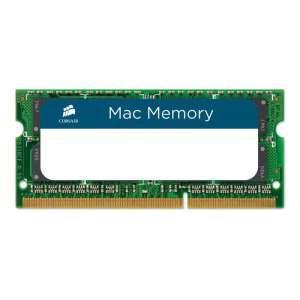 Memoria Corsair SODIMM DDR3 4GB PC3-8500 1066Mhz Corsair Mac 1.5V CMSA4GX3M1A1066C7