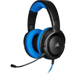 Auricular Corsair HS35 Gaming PC azul USB CA-9011196-EU